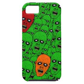 Undead Zombie Heads iPhone 5 Case