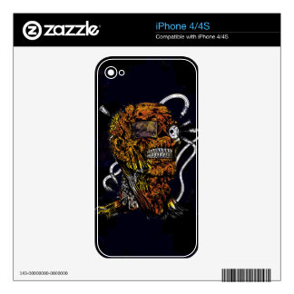Undead Zombie Mummy Freaky Guy Decals For The iPhone 4S