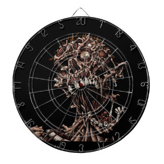 Undead Zombie's Anguished Rotten Flesh Cry Dartboards