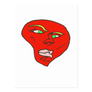 UNDECIDED HEART 1.PNG POSTCARD