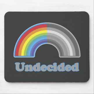 Undecided Rainbow Mouse Pad