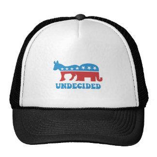 undecided voters trucker hat