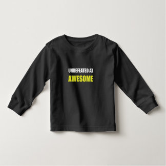 Undefeated At Awesome Shirt