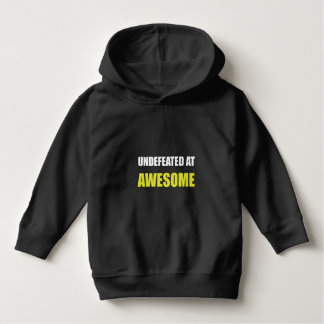 Undefeated At Awesome Toddler Hoodie