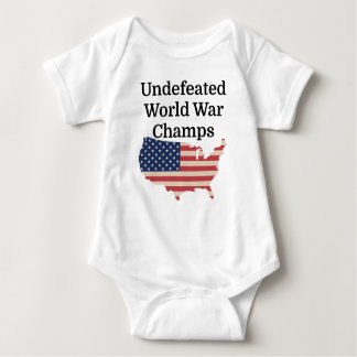 Undefeated World War Champs Baby Bodysuit