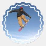 undefined classic round sticker