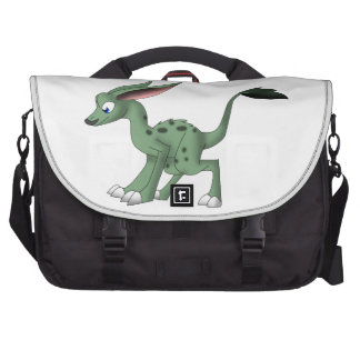Undefined Creature w. Mustache Laptop Commuter Bag