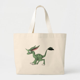 Undefined Creature w/ Unicorn Horn Tote Bag