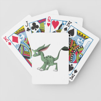 Undefined Creature w/ Unicorn Horn Bicycle Playing Cards