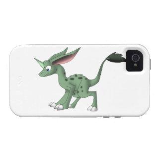 Undefined Creature w/ Unicorn Horn iPhone 4/4S Case