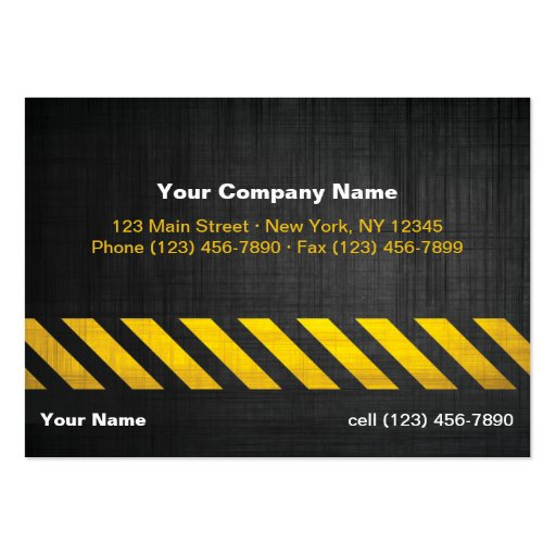 undefined large business cards (Pack of 100)