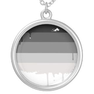 undefined round pendant necklace