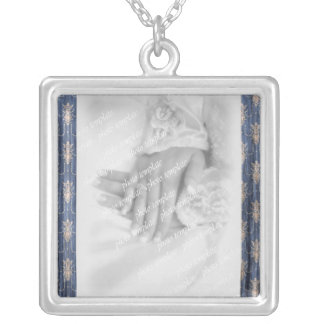 undefined silver plated necklace