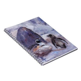 undefined spiral notebook