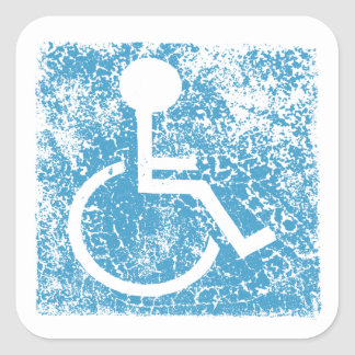 undefined square sticker