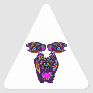 undefined triangle sticker