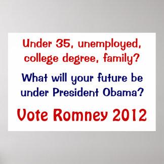 Under 35 Romney Poster