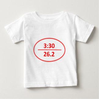 Under 3:30 Marathon Red Baby T-Shirt