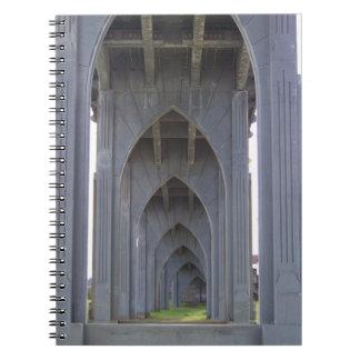 Under a Bridge Notebook