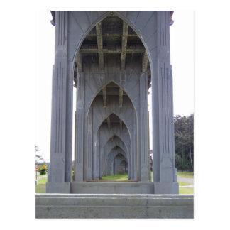 Under a Bridge Postcard