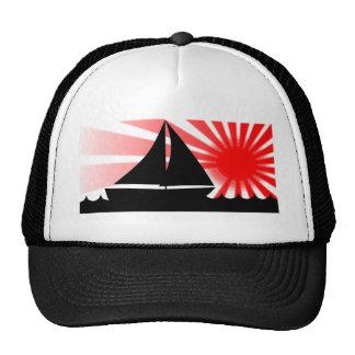 Under A Red Sun Hat