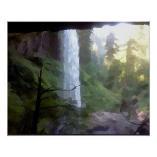 Under a Silver Falls Poster