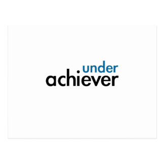 Under Achiever (blue light special) Postcard