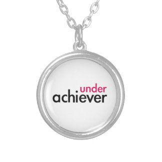 Under Achiever (the pink lazy) Necklaces