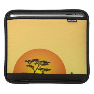 Under African skies: Africa Sunset iPad Sleeve