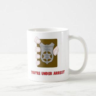 Under Arrest Mug