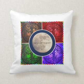 Under August Skies... Throw Pillow