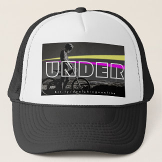 UNDER  BIKER LOGO (LIMITED EDITION PROMO-WEAR) TRUCKER HAT