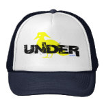"""UNDER """"BIRD"""" LOGO TRUCKER HAT"""