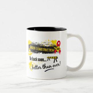Under Construction Blood Cancer Mug