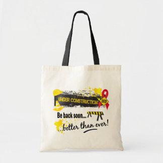 Under Construction Blood Cancer Tote Bag