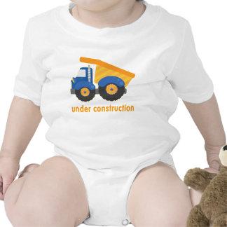 Under Construction Blue Truck T-shirt
