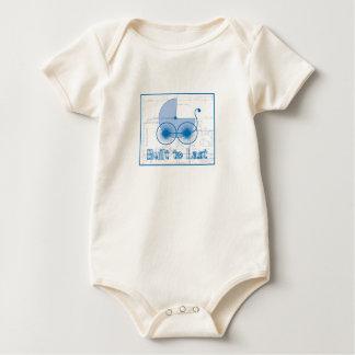Under Construction Blueprint Baby Bodysuit