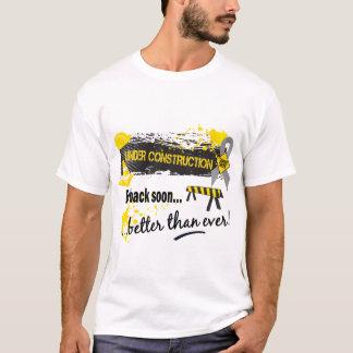 Under Construction Brain Cancer T-Shirt