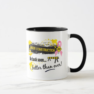 Under Construction Breast Cancer Mug