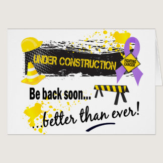 Under Construction Cancer Card