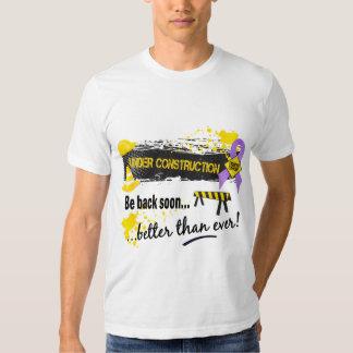 Under Construction Cancer T Shirt