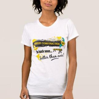 Under Construction Cervical Cancer T Shirt
