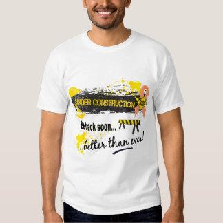 Under Construction Endometrial Cancer T Shirt