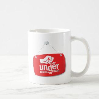 Under Construction Fist Pound Sign Coffee Mug