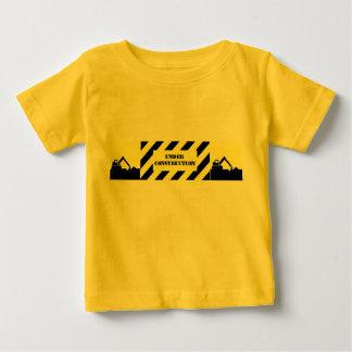 under construction infant t-shirt