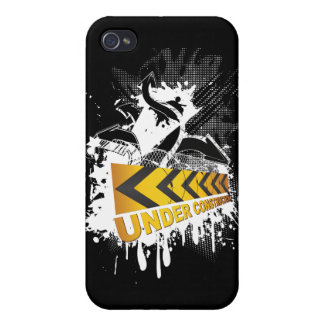 Under Construction iPhone 4/4S Cases