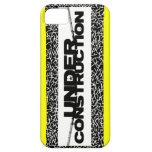 under construction iPhone 5/5S cases