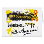 Under Construction Kidney Cancer Cards