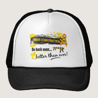 Under Construction Leukemia Trucker Hat
