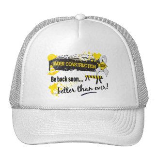 Under Construction Lung Cancer Trucker Hat
